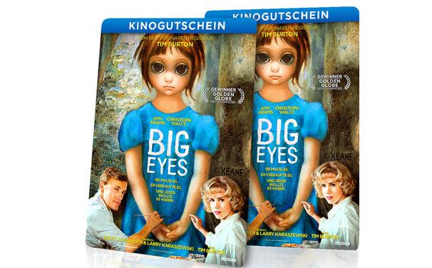Big Eyes, Für alle Kino-Fans: Wir verlosen zum Kinostart von Big Eyes  drei mal zwei Tickets für euch und Begleitung