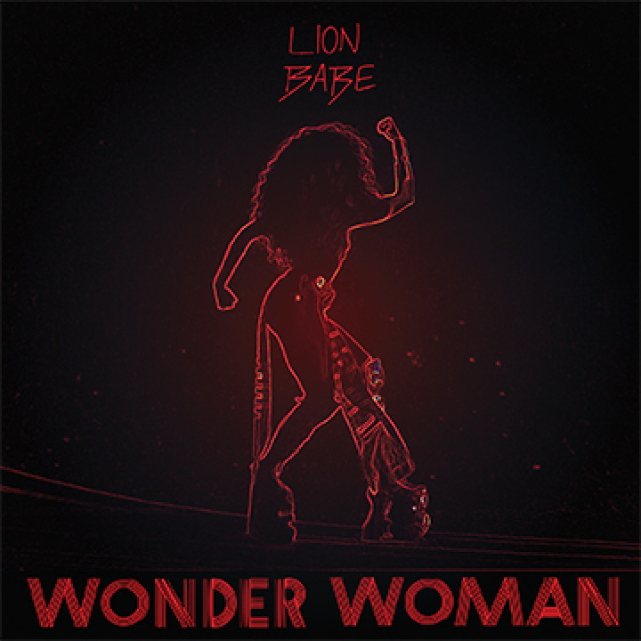 Lion Babe Wonder woman Cover