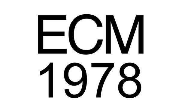 ECM Sounds, ECM 1978: Musikalische Extreme - Von Keith Jarrett bis Steve Reich