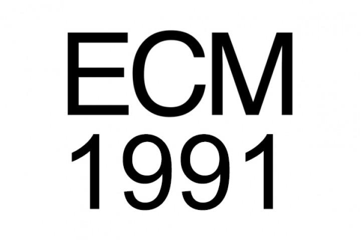 Das ECM Jahr 1991