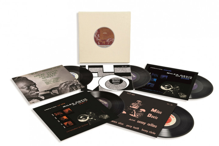 "Miles-Davis-Vinyl-Box ""The Prestige 10 - LP Collection Vol. 1"""