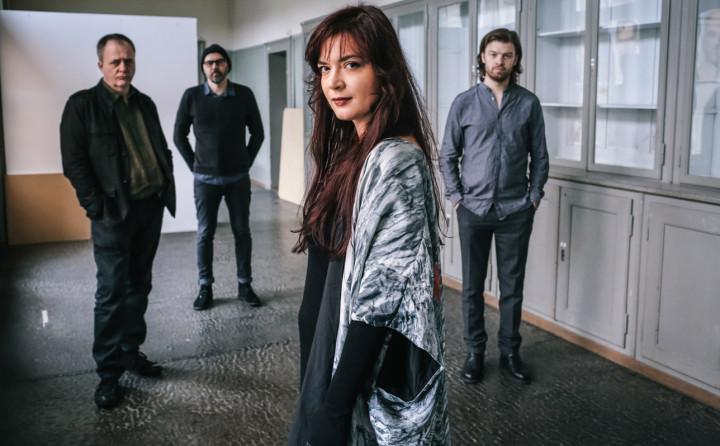 Elina Duni Quartett: Norbert Pfammatter, Patrice Moret, Elina Duni, Colin Vallon