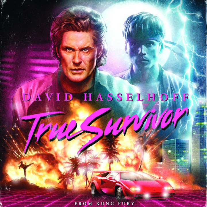 David Hasselhoff True Survivor Single