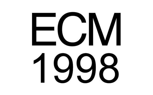 ECM Sounds, ECM 1998: Mit Dino Saluzzi, Francois Couturier, Christian Wallumrød uvm.