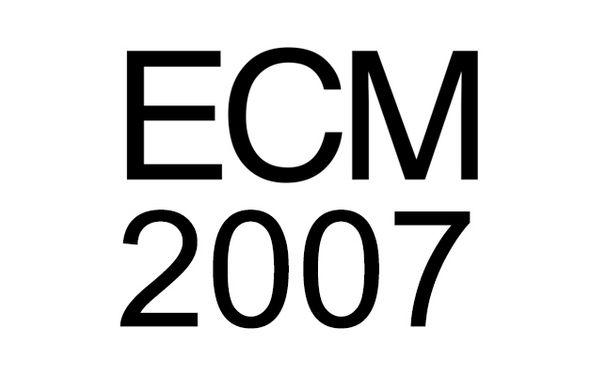 ECM Sounds, ECM 2007: Mit Eberhard Weber, Jan Garbarek, Sinikka Langeland uvm.
