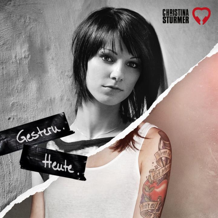 Christina Stürmer Album Cover "Gestern. Heute - Best of"