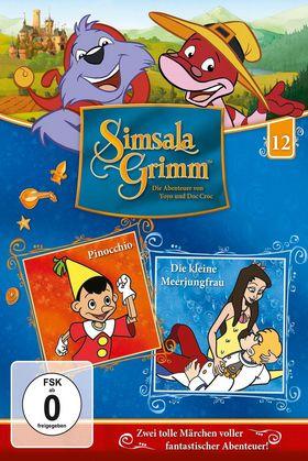 SimsalaGrimm, 12: Pinocchio / Die kleine Meerjungfrau, 00602547226037