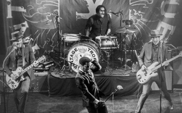 Various Artists, Vintage Trouble gehen mit AC/DC auf Europa-Tournee