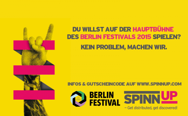 "Bandcontest ""Berlin Festival"""