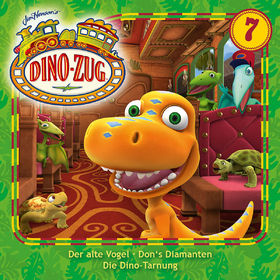 Der Dino-Zug, 07: Der alte Vogel / Don's Diamanten / Die Dino-Tarnung, 00602547296023