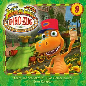 Der Dino-Zug, 09: Adam, die Schildkröte / Tilos kleiner Bruder /  Erma Eoraptor, 00602547296054