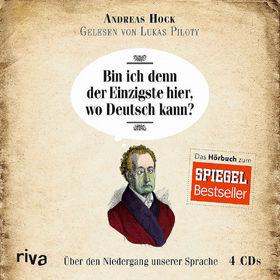 Various Artists, Andreas Hock: Bin ich denn der Einzigste hier,wo Deutsch kann, 09783868836905