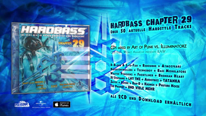 HARDBASS CHAPTER 29 official Preview – Mixed by Art of Punk vs. Illuminatorz