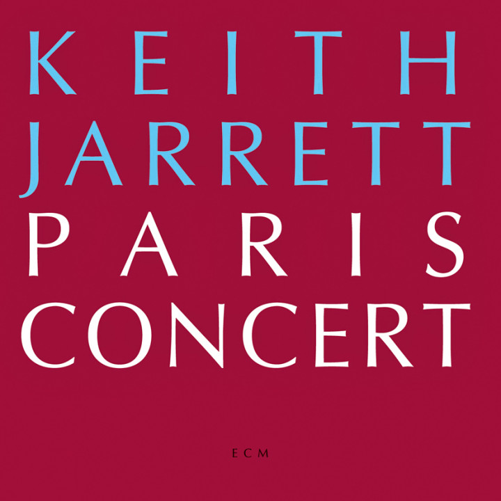 Paris Concert – Keith Jarrett: Piano – Recorded October 1988