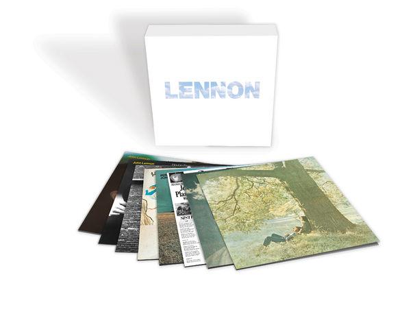 John Lennon, JOHN LENNONs acht solo Studioalben neu gemastert und vereint in dem 9LP-Boxset 'LENNON' auf 180gr. Vinyl und mit originalgetreuem Artwork