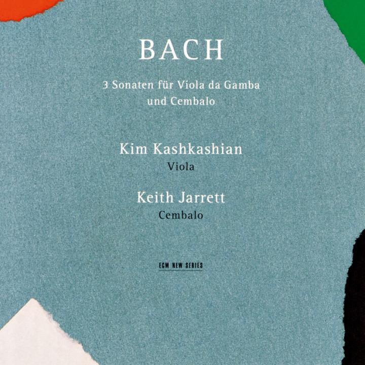 Johann Sebastian Bach 3 Sonaten für Viola da Gamba und Cembalo – Kim Kashkashian: Viola, Keith Jarrett: Cembalo – Sonatas BWV 1027 – 29 – Recorded September 1991