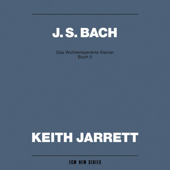 Johann Sebastian Bach Das Wohltemperierte Klavier, Buch II – Keith Jarrett: Harpsichord – Recorded May 1990