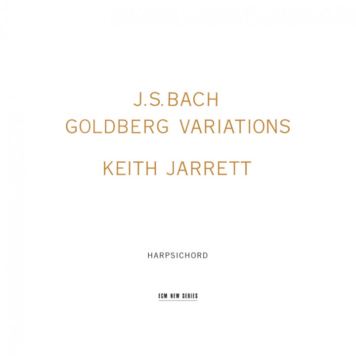 Johann Sebastian Bach Goldberg Variations – Keith Jarrett: Harpsichord – Recorded January 1989