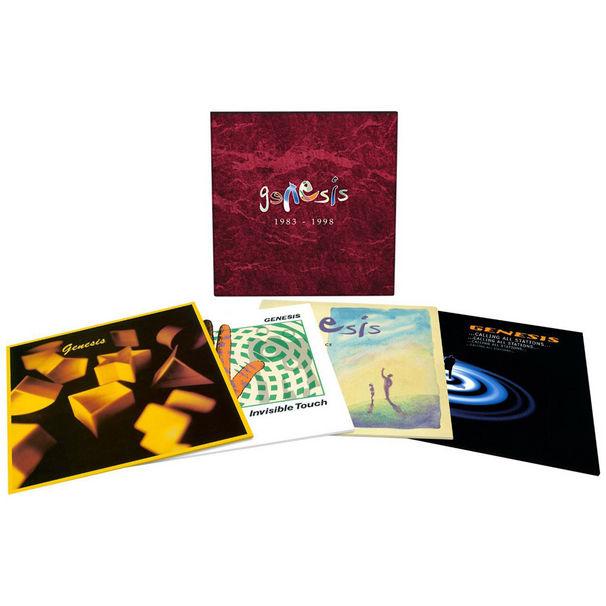 Genesis, 1983-1998 umfasst die letzten vier Studio-Alben der Band, neu gemastert und auf 180g schweres Vinyl gepresst