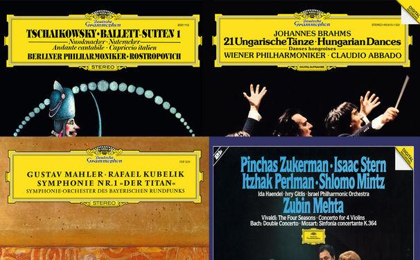 Diverse Künstler, Alte Schätze - Vier neue Alben auf Vinyl