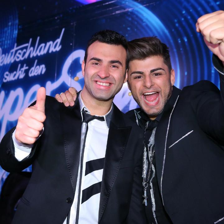 DSDS 2015 Finalisten Antonio Gerardi und Severino Seeger