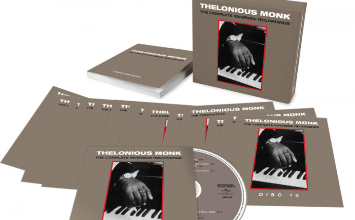 """Thelonious Monk 15-CD-Box """"Complete Riverside Recordings"""""""