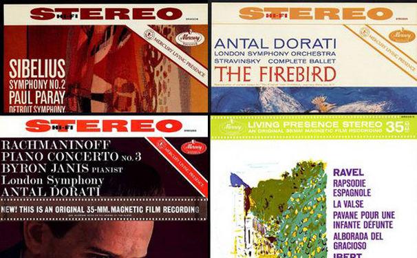 Diverse Künstler, Vinyl-Klassiker – 4 LPs aus dem Fundus von Mercury Living Presence
