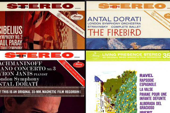 Jean Sibelius, Igor Strawinsky, Sergei Rachmaninoff, Maurice Ravel
