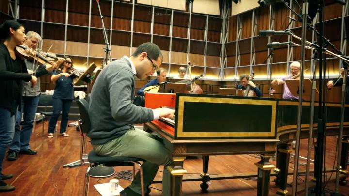 J.S. Bach: Konzert für Cembalo Nr. 1 (Ausschnitt)