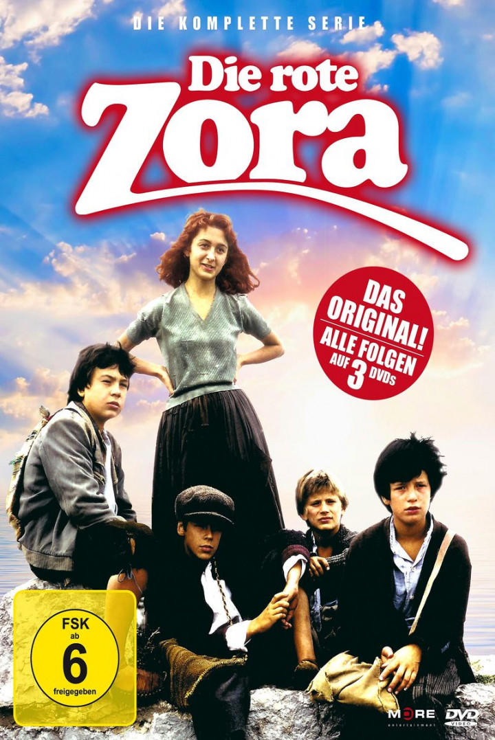 Die rote Zora - Die komplette Serie (3 DVD)