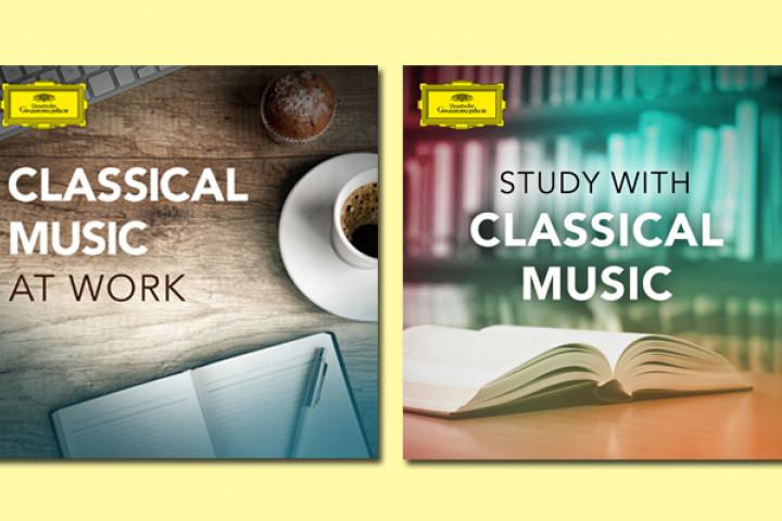 Deutsche Grammophon Spotify-Playlists mit klassischer Musik zum Arbeiten und Studieren