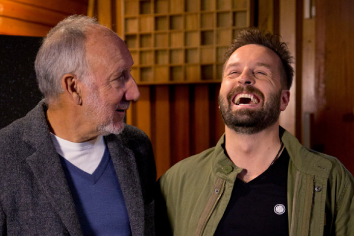 Pete Townshend (The Who) und Alfie Boe