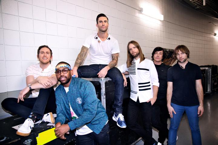Maroon 5 - Pressebild 2015
