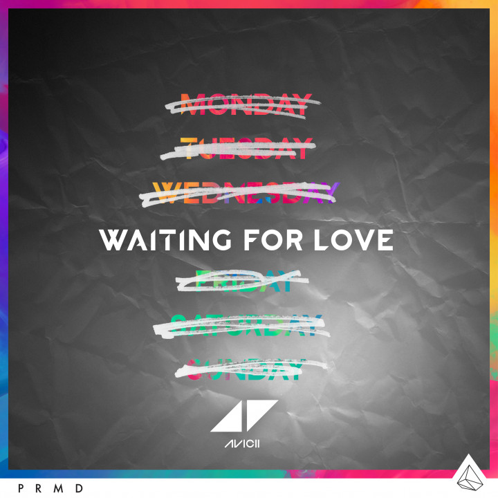 "Avicii Single Cover ""Waiting For Love"""