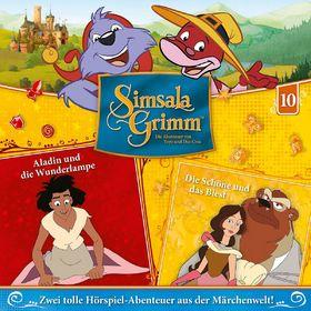SimsalaGrimm, 10: Aladin und die Wunderlampe / Die Schöne und das Biest, 00602547225641
