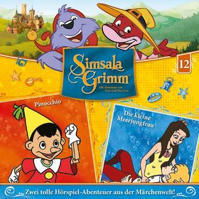 SimsalaGrimm, 12: Pinocchio / Die kleine Meerjungfrau, 00602547225665