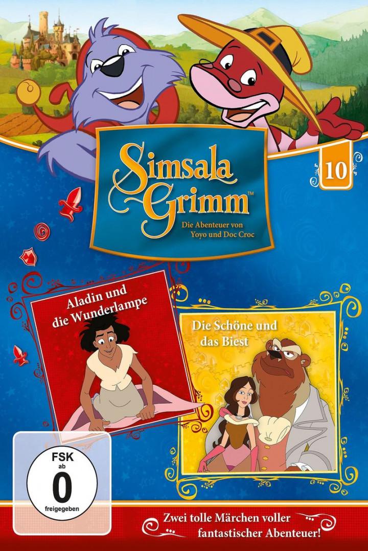 10: Aladin und die Wunderlampe / Die Schöne und das Biest DVD