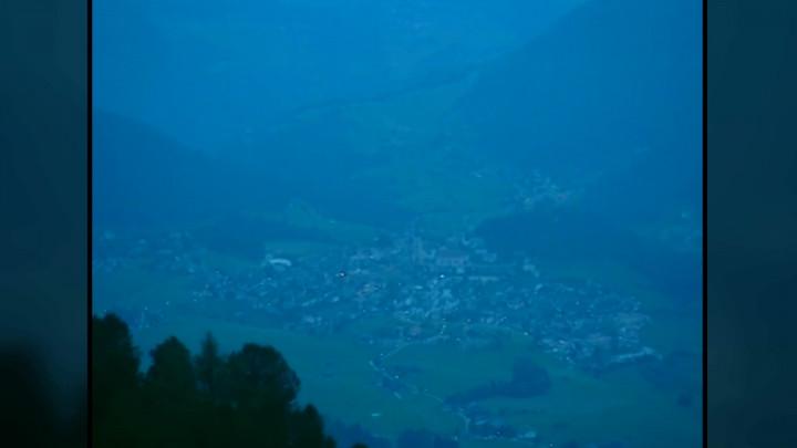 Abend über Südtirol