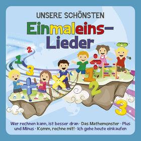 Familie Sonntag, Unsere schönsten Einmaleins-Lieder, 00602547295552
