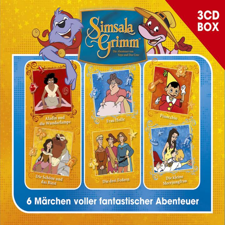 SimsalaGrimm 3-CD Hörspielbox Vol. 4