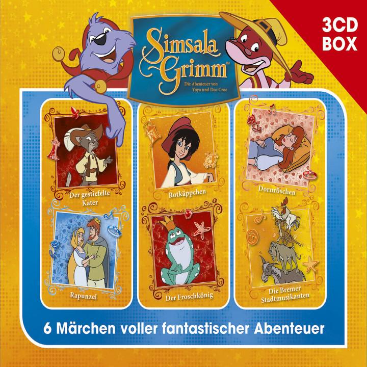 SimsalaGrimm 3-CD Hörspielbox Vol. 1