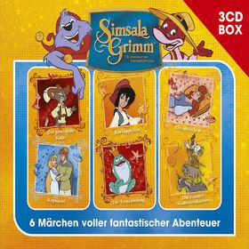 SimsalaGrimm, SimsalaGrimm 3-CD Hörspielbox Vol. 1, 00602547225818