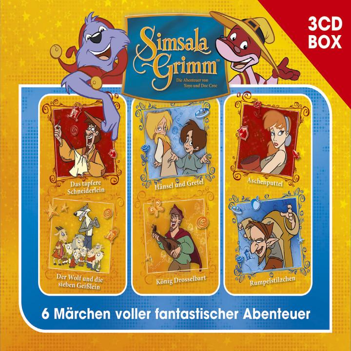 SimsalaGrimm 3-CD Hörspielbox Vol. 2