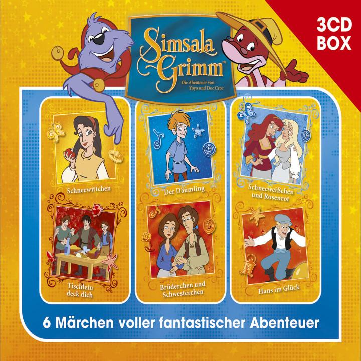 SimsalaGrimm 3-CD Hörspielbox Vol. 3