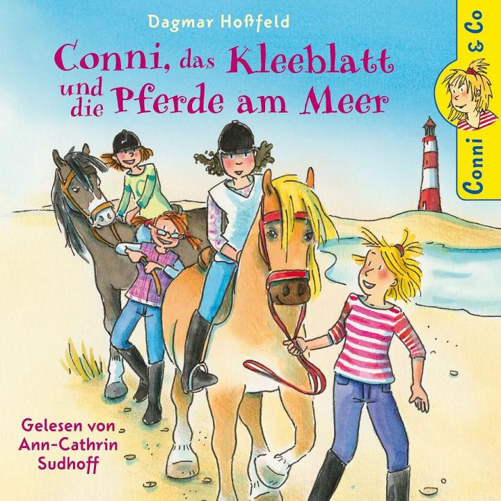 D. Hoßfeld: Conni, Kleeblatt u.d. Pferde am Meer