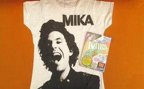 Mika, Stimmt euch auf das neue Mika-Album ein: Gewinnt die DVD-Box Live In Cartoon Motion oder eines von drei coolen T-Shirts