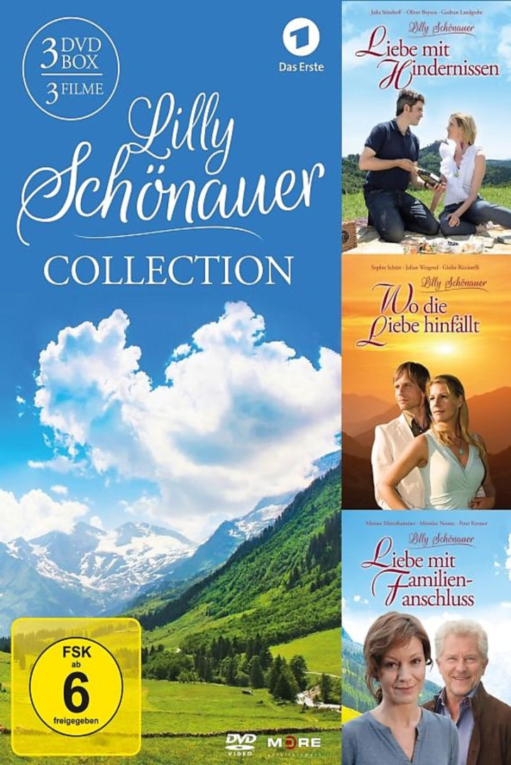 Lilly Schönauer Collection (3DVD)