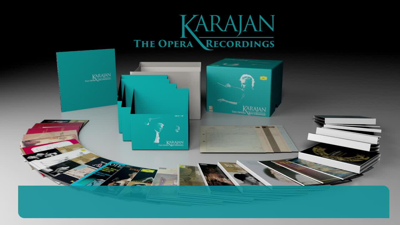 Herbert von Karajan, Karajan - The Opera Recordings (Teaser)