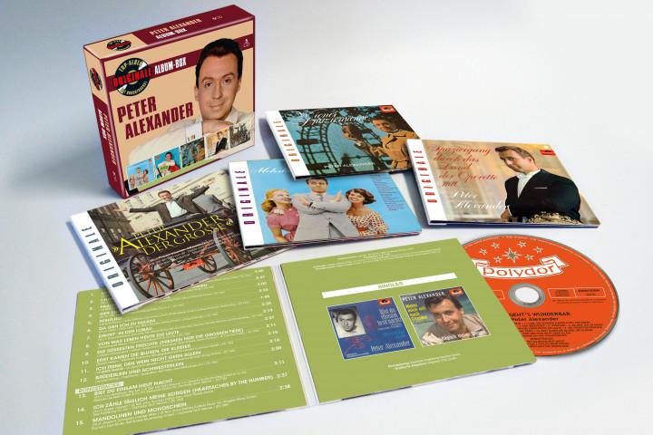 Originale Album Boxen - Peter Alexander