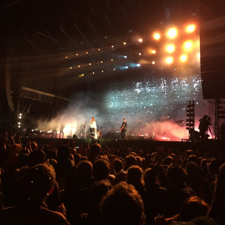 Florence live Hurricane 2015